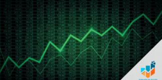 Representa a mercados subiendo.