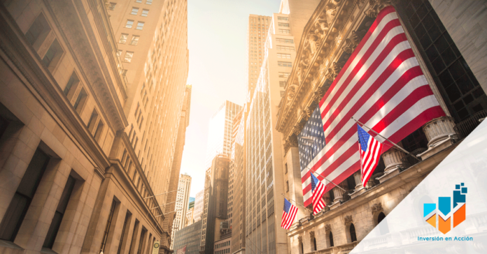 Representa a Wall Street.